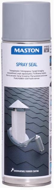 MASTON Spray Seal tekutá těsnící guma ve spreji 500ml šedý
