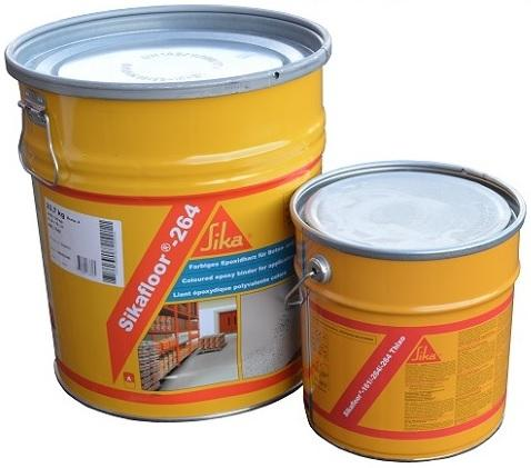Sika Sikafloor-264 EP nátěr na beton s normální až střední zátěží 30 Kg RAL 7032