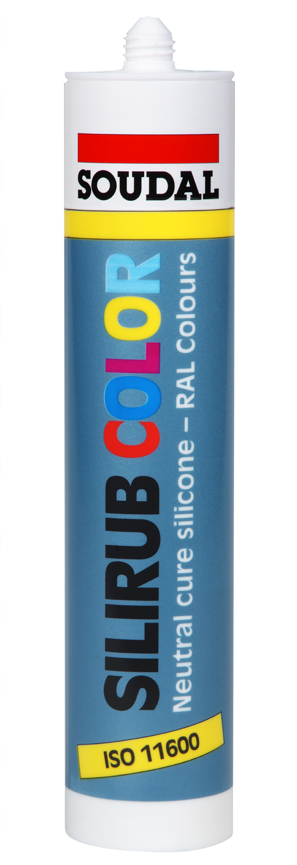 Soudal Silirub COLOR 310ml neutrální barevný silikon