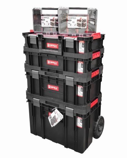 Set boxů Qbrick TWO Cart na kolech 6v1