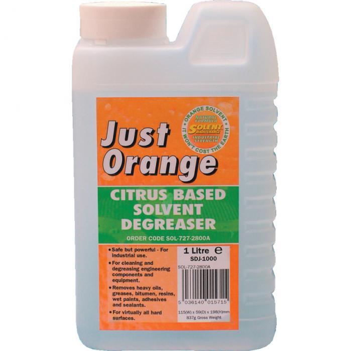 Solent Maintance Solent prostředek odmašťovací Just Orange 1litr