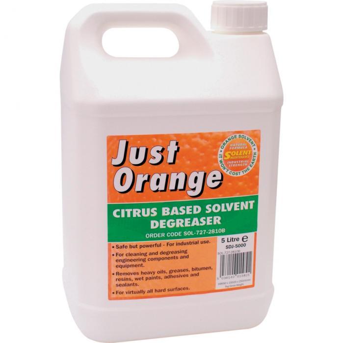 Solent Maintance Solent prostředek odmašťovací Just Orange 5 litrů