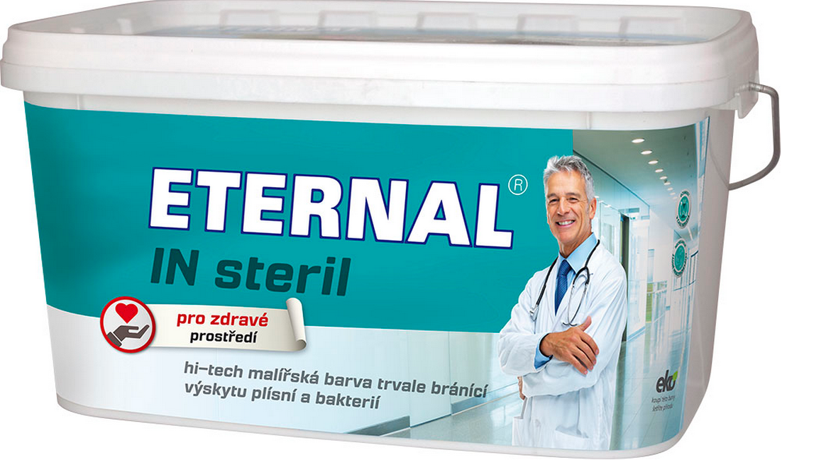 AUSTIS ETERNAL IN steril 4kg - interiérová barva trvale zabraňující výskytu plísní a bakterií