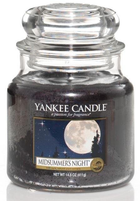 Vonná Svíčka YANKEE CANDLE Midsummers Night CLASSIC STŘEDNÍ Letní noc