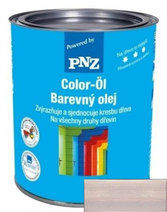 PNZ Barevný olej silbergrau / stříbrná šedá 0,25 l