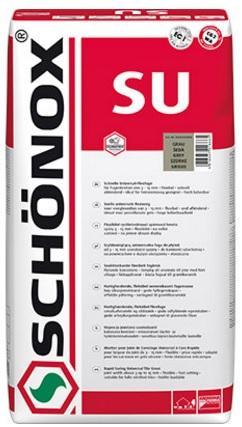 SCHÖNOX SU 5Kg kvalitní spárovací hmota pro odolné spáry na balkonech, terasách, v mokrých provozech