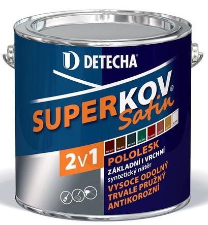 Detecha Superkov Satin základní a vrchní barva na kov 2,5Kg