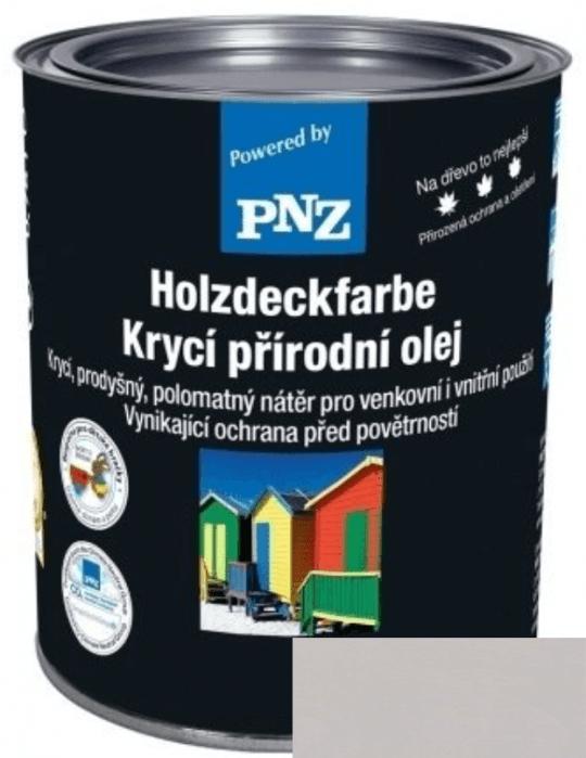 PNZ Krycí přírodní olej lichtgrau / světle šedá 10 l
