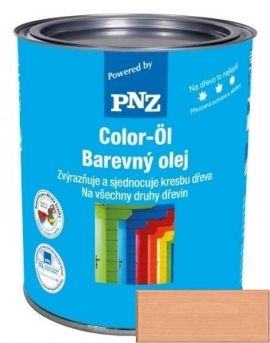 PNZ Barevný olej eiche hell / světlý dub 0,25 l