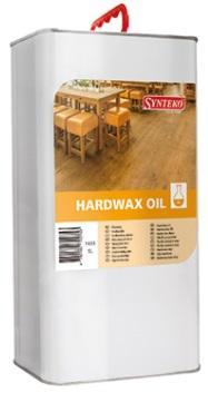 Synteko HARDWAX OIL lněný olej bez rozpouštědel pro dřevěné a parketové podlahy s vysokým zatížením