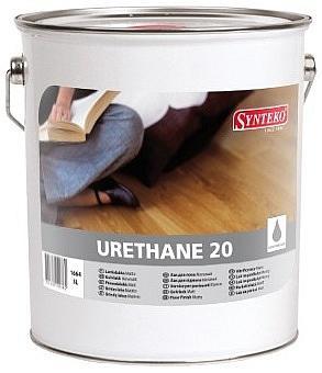 Synteko URETHANE 5L rozpouštědlový lak vhodný na měkké i tvrdé dřeviny