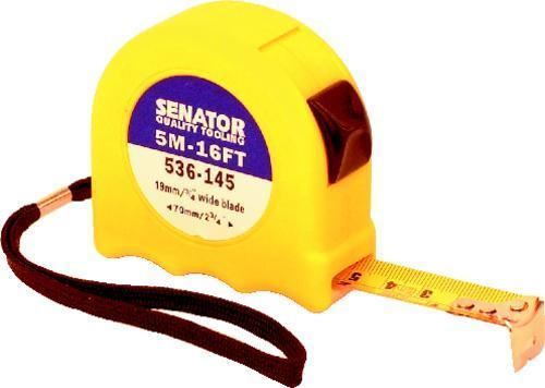 SENATOR Metr svinovací Hi-Visibility 5 m / 19 mm