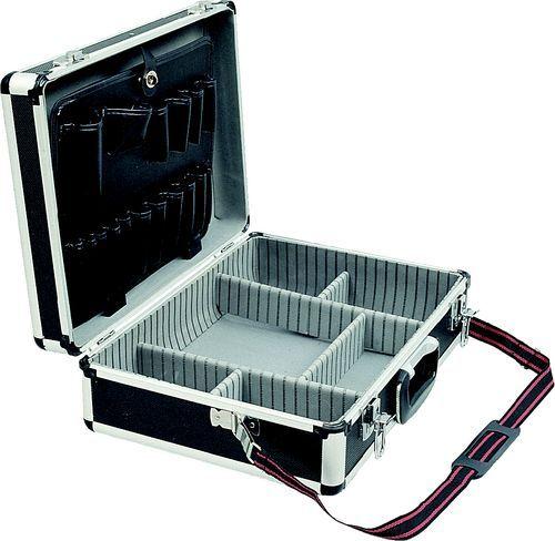 SENATOR Hliníkový kufr na nářadí 457 x 330 x 150 mm černý