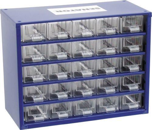SENATOR Skříňka zásobní na malé součástky 25 zásuvek SCS025
