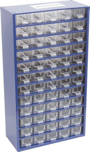 SENATOR Skříňka zásobní na malé součástky 60 zásuvek SCS060