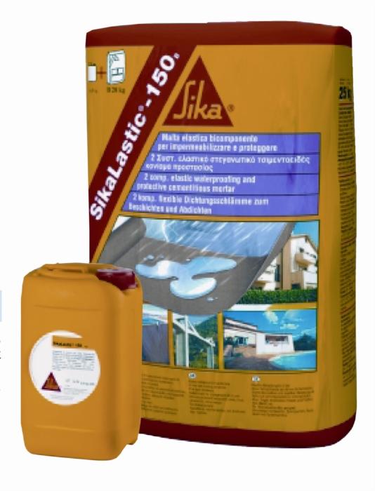 Sikalastic®-152 33 kg 2-komp.pružná voděodolná mlta s vláknem