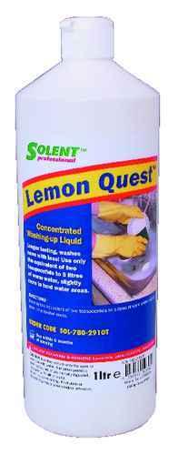 SOLENT Lemon Quest mytí nádobí 1 litr