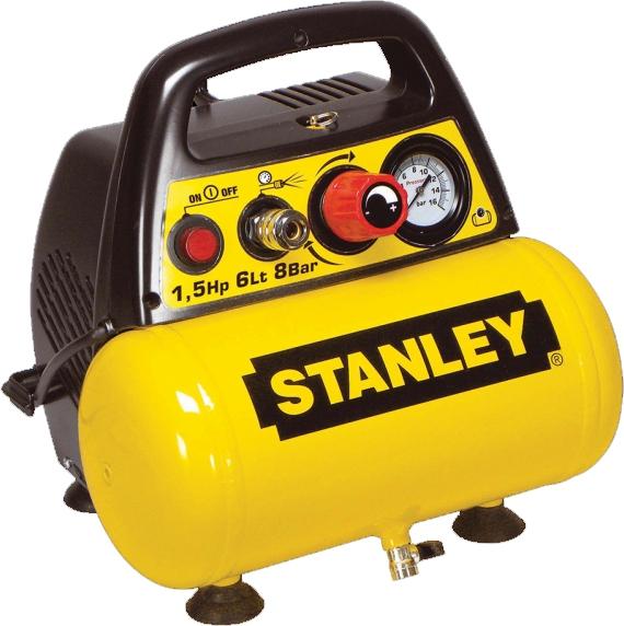 STANLEY DN 200/8/6 Samomazný přímo řízení kompresor