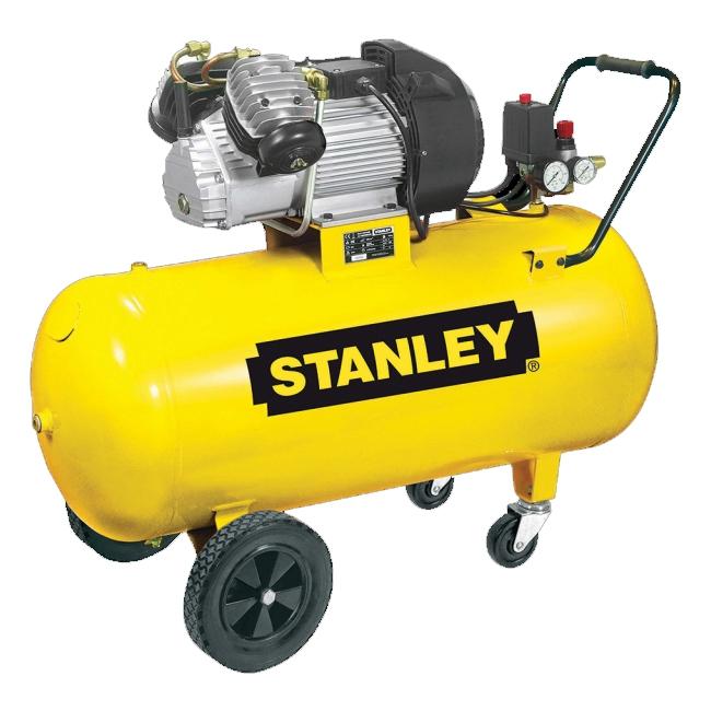 "STANLEY DV2 400/10/100 Olejový dvouválcový ""V"" kompresor"