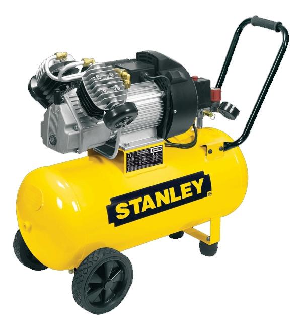 "STANLEY DV2 400/10/50 Olejový dvouválcový ""V"" kompresor"