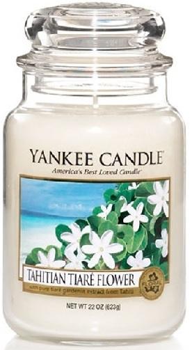 YANKEE CANDLE TAHITIAN TIARE FLOWER CLASSIC VELKÝ VONNÁ SVÍČKA