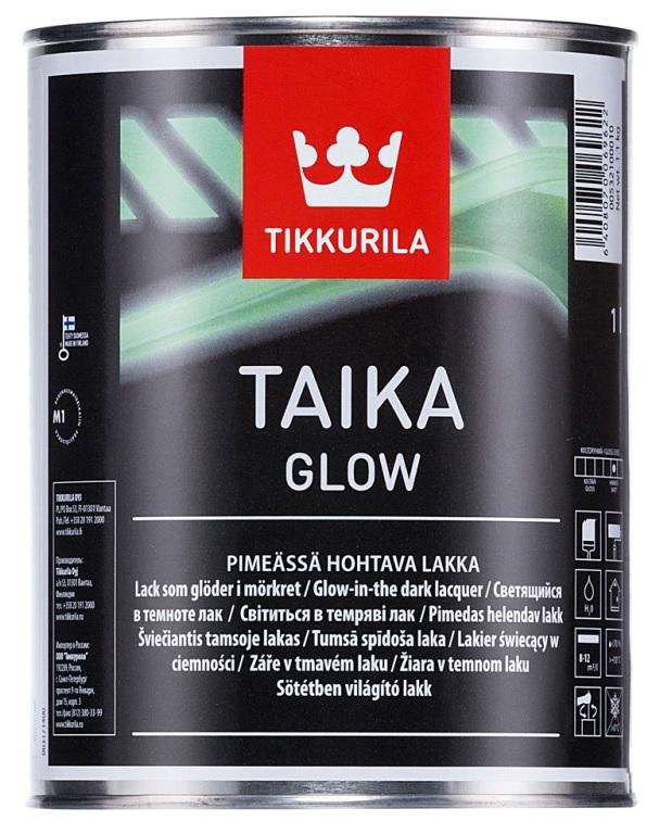 Tikkurila Taika Glow 0,3L efektní interiérová barva která ve tmě svítí