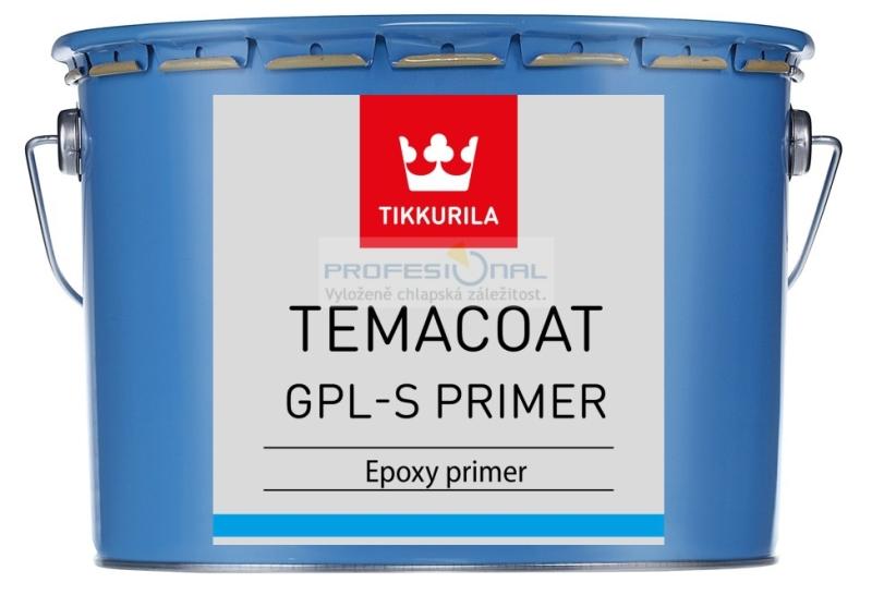 Tikkurila Temacoat GPL-S PRIMER - 2,2L / 3Kg Dvousložková epoxidová barva silnovrstvá na ocel, zinek, hliník
