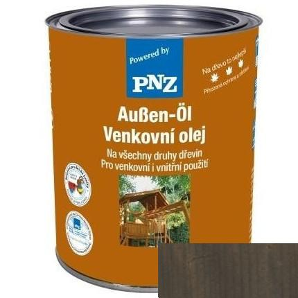 PNZ Venkovní olej metalický effekt dunkelgrau effekt / tmavě šedý efekt 2,5 l