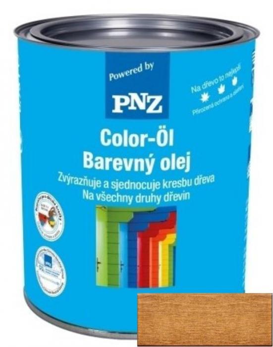 PNZ Barevný olej eiche dunkel / tmavý dub 0,25 l