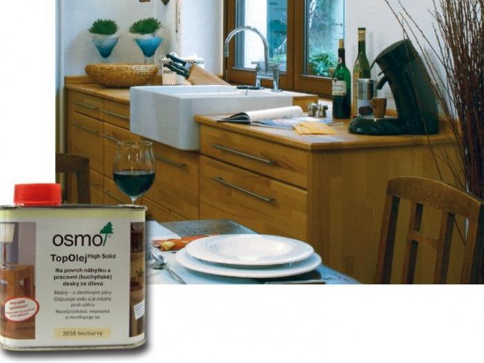 OsmoColor OSMO 3058 Top olej 0,5L bezbarvý olej pro kuchyňské desky