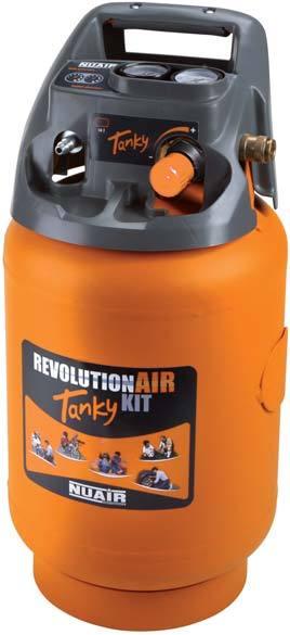 REVOLUTION AIR Nuair Tanky - přenosná nádoba na vzduch