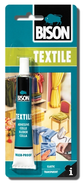 Bison Textile 25ml blistr - Lepidlo na textil