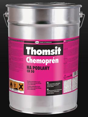 HENKEL Thomsit Chemoprén na podlahy - 4,5L Kontaktní rozpouštědlové lepidlo s vysokou pevností pro celoplošné lepení