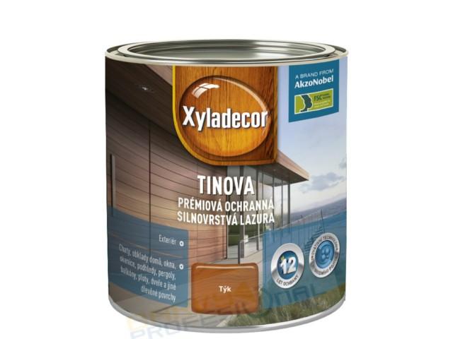 TINOVA 0,75 Xyladecor Tinova je unikátní prémiová lazura nejvyšší třídy
