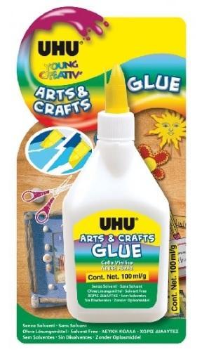 UHU ARTS & CRAFTS 100 ml Bílé lepidlo pro kreativní lepení