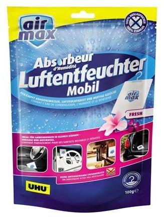 UHU Air Max mobil fresh pohlcovač (odvlhčovač) vlhkosti sáček 100g