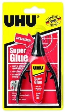 UHU Super Glue Precision 3g Vteřinové lepidlo v dávkovači
