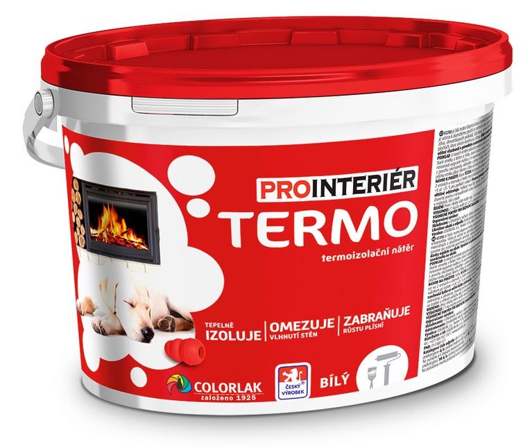 COLORLAK PROINTERIÉR TERMO V 2200 / C0100 Bílá / 4kg termoizolační nátěr
