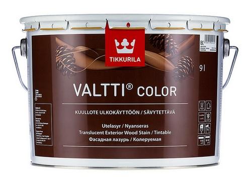 Tikkurila Valtti Color 0,9L Grey šedé odstíny - transparentní tenkovrstvý vrchní nátěr dřeva