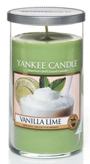 YANKEE CANDLE Vanilla Lime DÉCOR STŘEDNÍ Vanilka s limetou