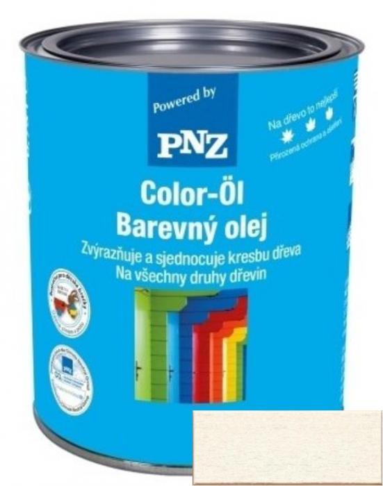 PNZ Barevný olej kalkweiß / vápenná bílá 0,25 l