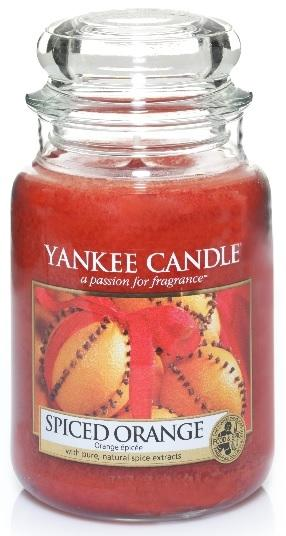 YANKEE CANDLE SPICED ORANGE CLASSIC VELKÝ