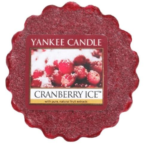 YANKEE CANDLE CRANBERRY ICE VONNÝ VOSK DO AROMALAMPY