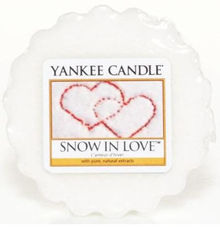 YANKEE CANDLE SNOW IN LOVE VONNÝ VOSK DO AROMALAMPY
