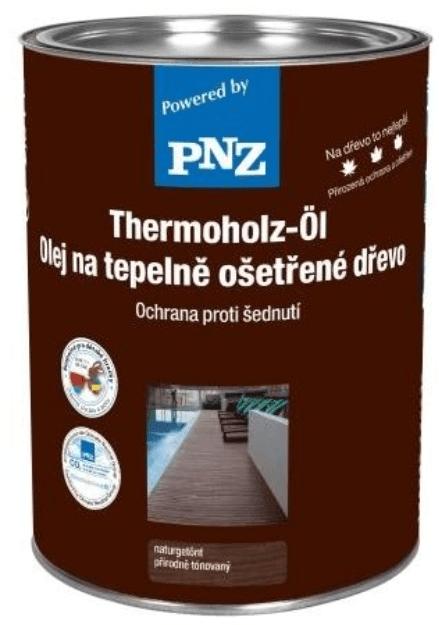PNZ Olej na tepelně ošetřené dřevo eigenfarbe / vlastní barvy 0,75 l