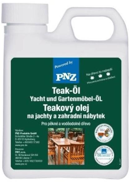 PNZ Olej na teakové dřevo hell teakfarben / světlý teak 1 l