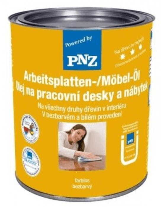 PNZ Olej na pracovní desky a nábytek weiß / bílá 10 l