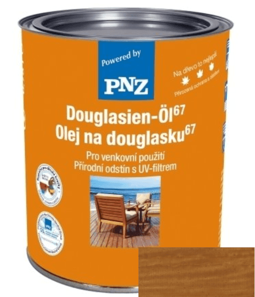 PNZ Olej na Douglasku 67 eigenfarbe / vlastní barvy 0,75 l