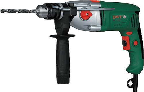 DWT - nářadí DWT SBM-1050 T elektrická dvourychlostní příklepová vrtačka
