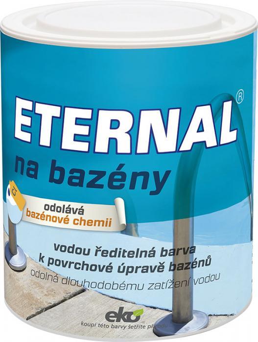 AUSTIS ETERNAL na bazény 1kg barva určená k povrchové úpravě nátěru bazénů